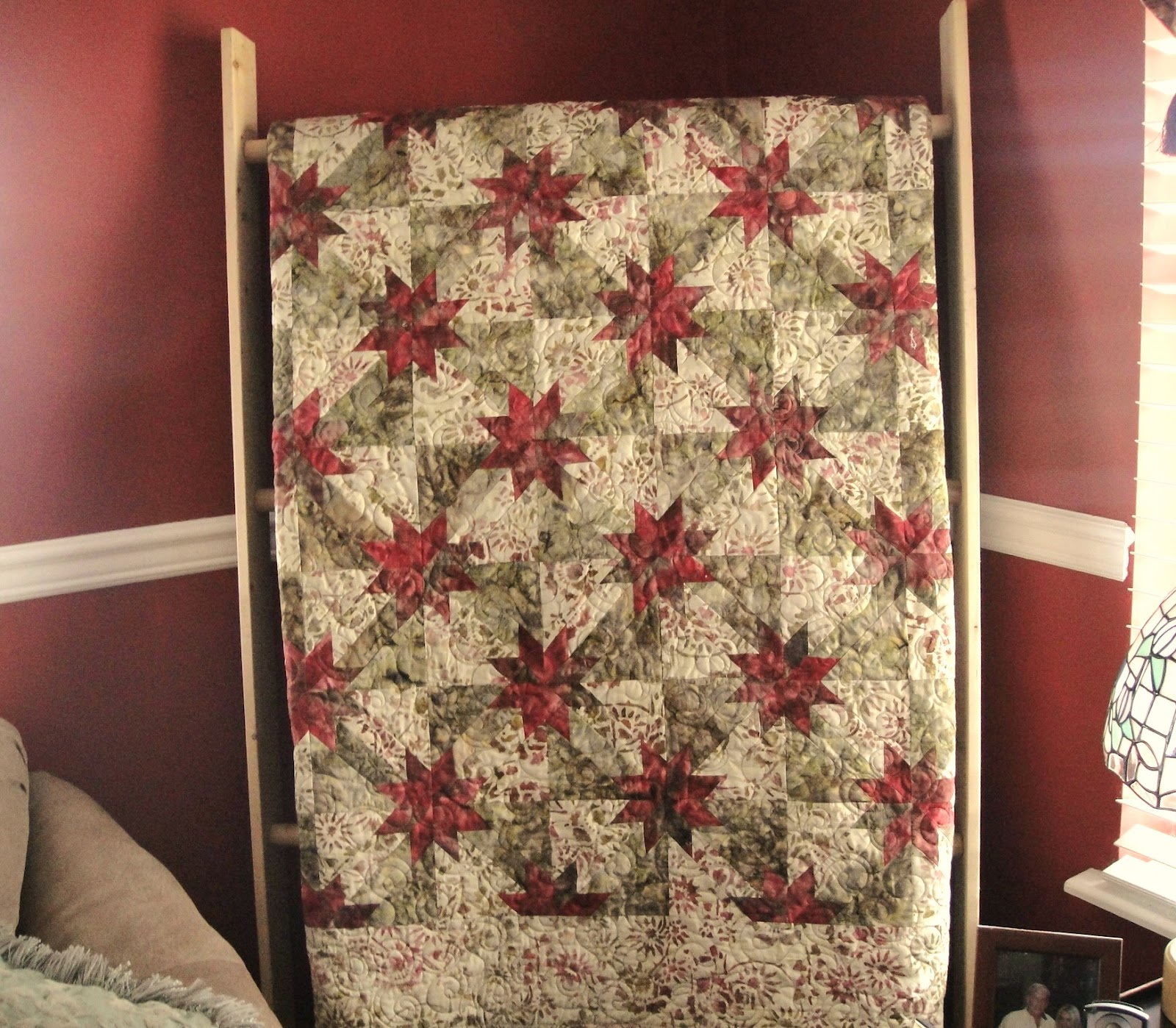 Tncottagequilter Hunters Star Quilt