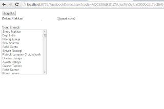Facebook C# SDK ASP .NET