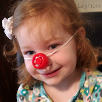 DIY Clown Nose Circus Obstacle Course for Kids