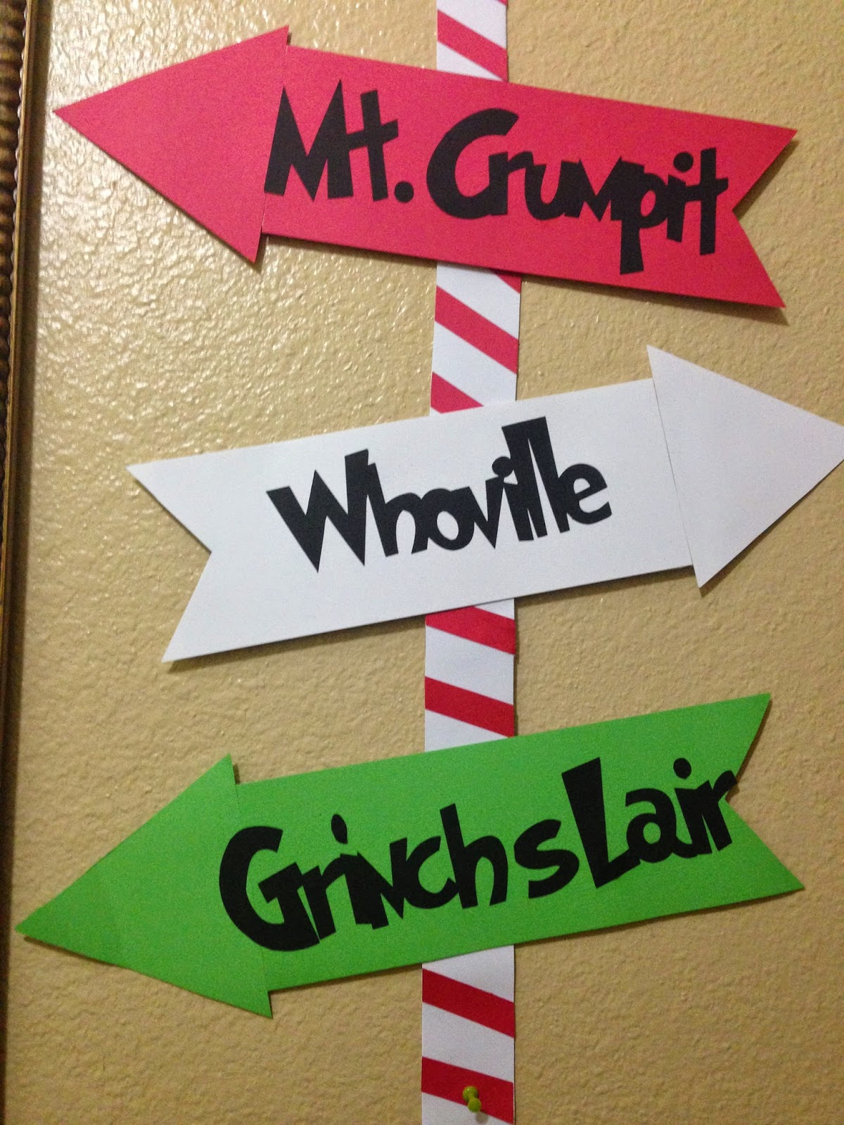 Craft Room Secrets: It is Grinchmas in our house this year!