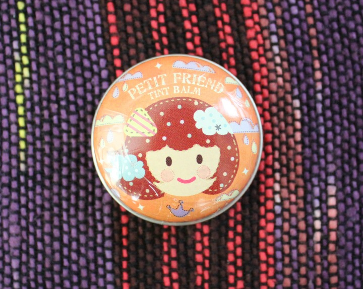 Memebox Superbox #49: All About Lips Shara Shara Petit Friend Tint Lip Balm in OR01 Crown Orange