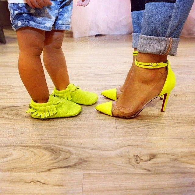Matching Shoes For Mom And Baby #1.