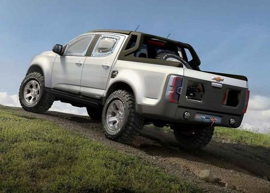 Bazoooka jay 39 s blogger the chevy colorado rally concept truck