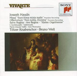 Haydn: Missa Sunt Bona Mixta Malis