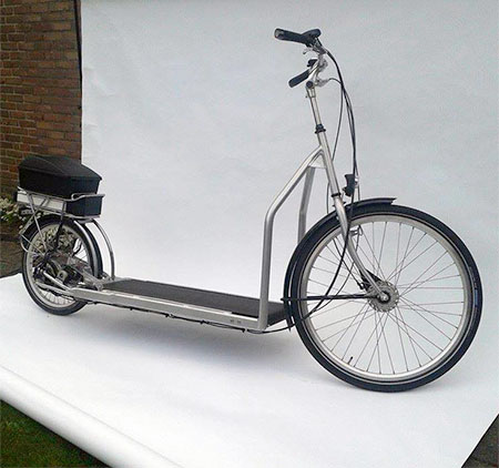 Electric Treadmill Bicycle designed by Bruin Bergmeester