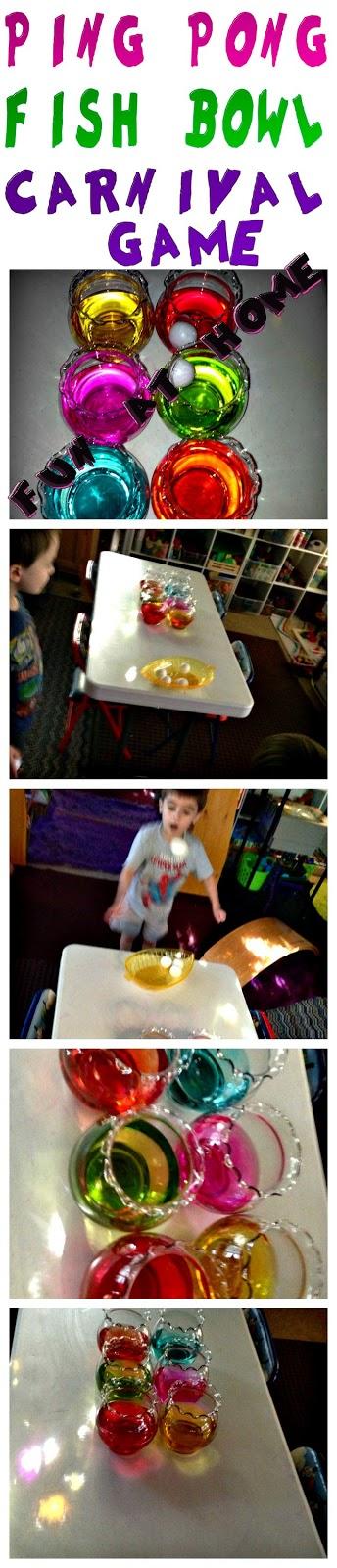 Ping Pong Fish Bowl Toss Epic Childhood