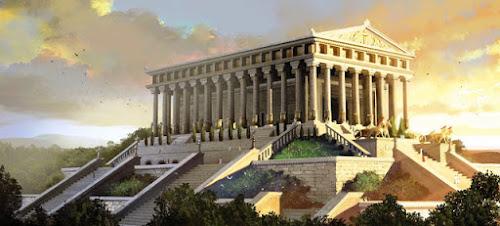 As 7 Maravilhas do Mundo Antigo - 4º O Templo de Artemis em Éfeso