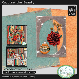 New Collection - Capture the Beauty with Freebie