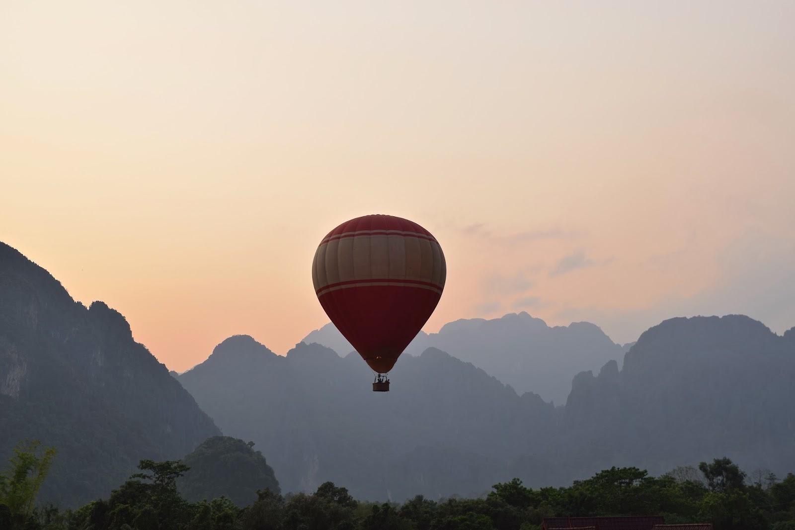 Balloon Vang Vieng