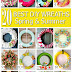 20 Gorgeous DIY Wreaths for Spring & Summer