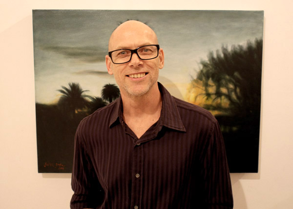 Artist Portrait, Gilbert Grace - Luminous, Sheffer Gallery - 38 Lander street, Darlington