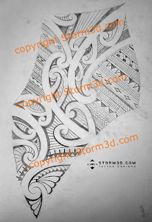 shoulderblade maori sketch custom tattoo designs