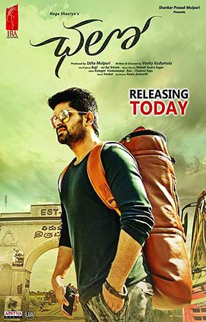 Chalo 2018 Hindi 300MB Movie HDRip 480p