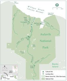 Aulavik National Park and Banks Island
