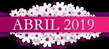 Novedades de abril 2019