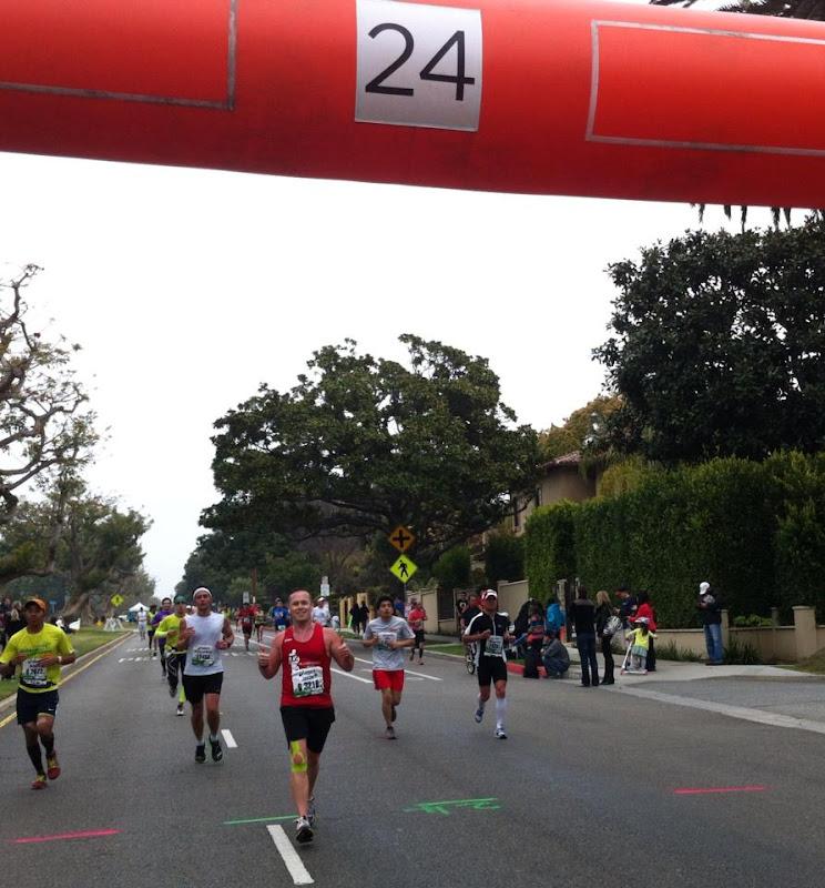 Smiles Mile 24 LA Marathon