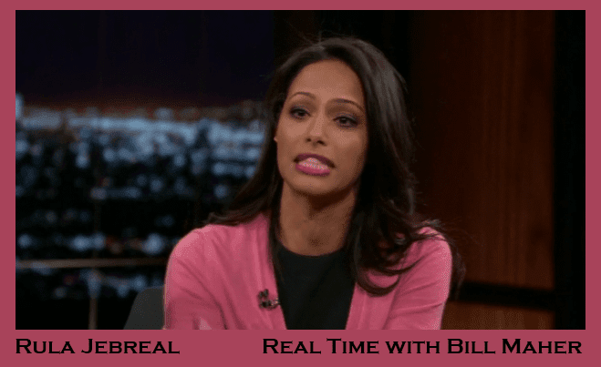 Rula Jebreal appearing on Real Time with Bill Maher 1-18-2013