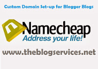 Namecheap Custom Domain Setup for Blogger