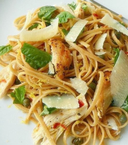 Are You Cooking Lemon Chicken Pasta Ihcc Noodles