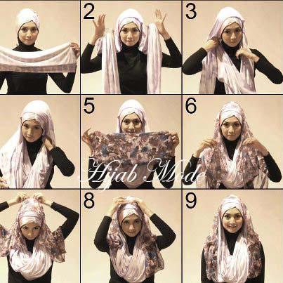 comment mettre le hijab