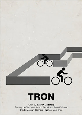 Tron Poster by Victor Hertz