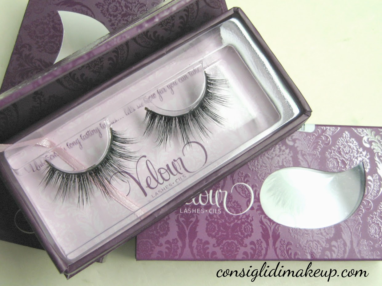 Review: Ciglia Finte Velour Lashes - Doll Me Up e Naughty Me