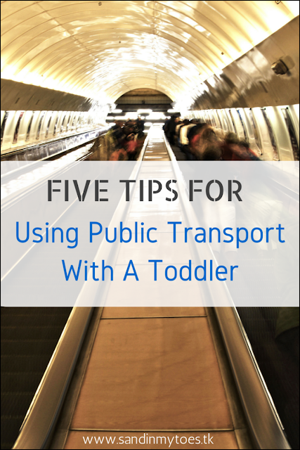 Tips for using public transport with a toddler in tow.