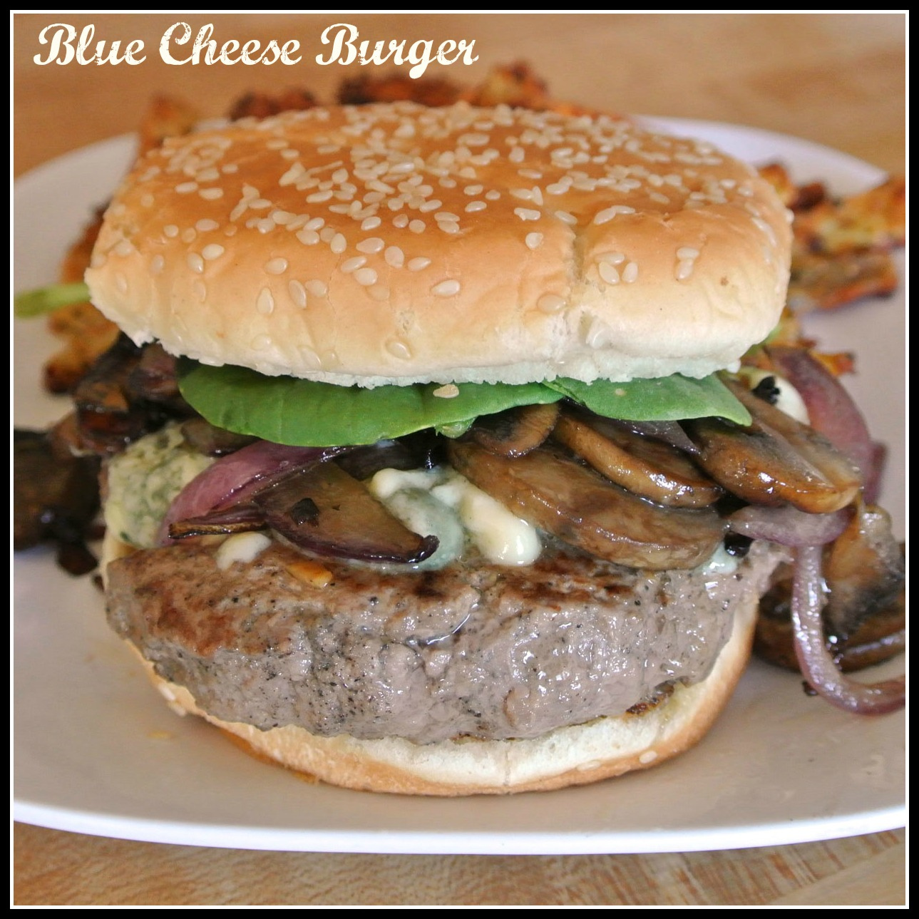 Gourmet Cooking For Two: Blue Cheese Burgers