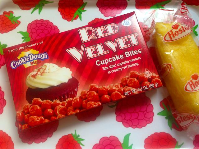 Red Velvet Cupcakes Bites