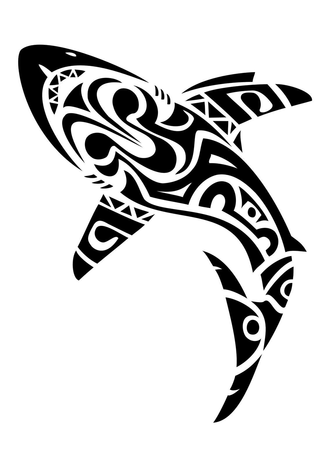 Tribal Shark Tattoo Meaning
