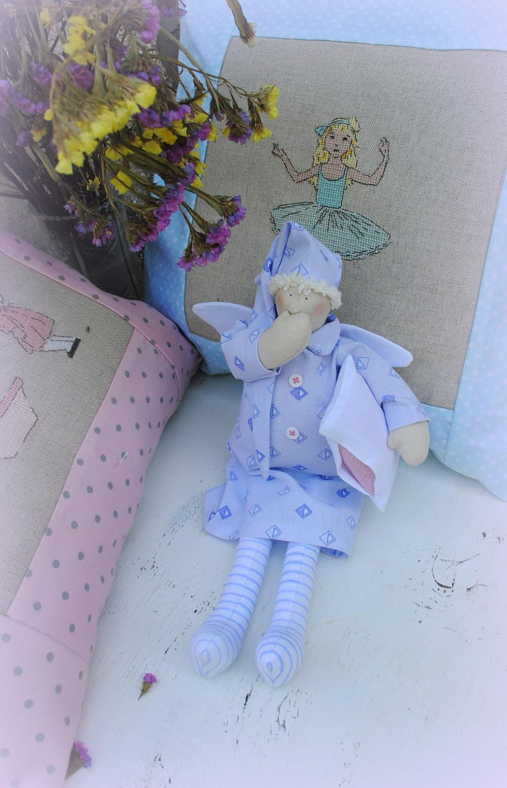 tilda, angel, doll buy, handmade, doll, odessa