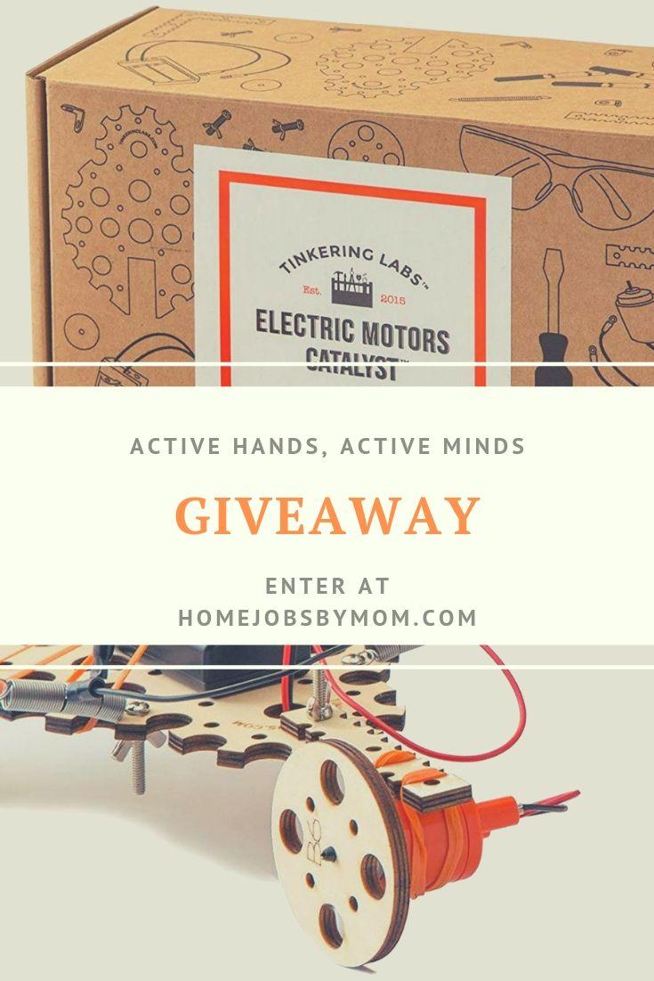 Active Hands, Active Minds Giveaway