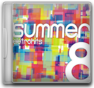 Capa CD Summer Eletrohits   Vol. 8 (2012)