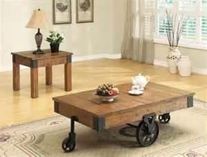 Soluciones para el hogar y el amor mesas de centro rusticas - Mesas centro rusticas ...