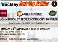 14th Sept...10 mile race in Cork City