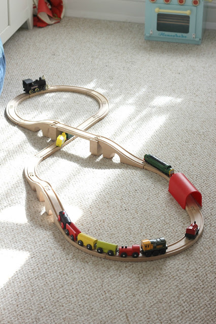 Ikea train set