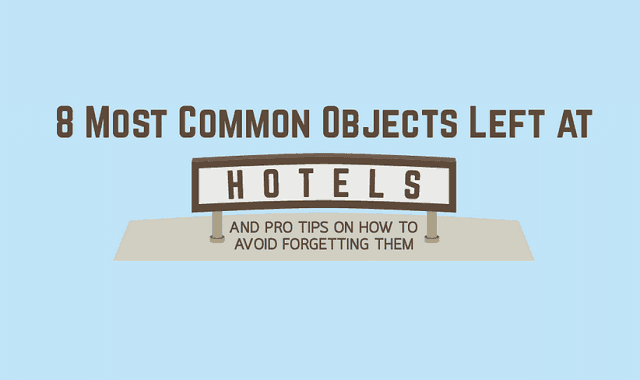 Image: 8 Most Common Objects Left at Hotels