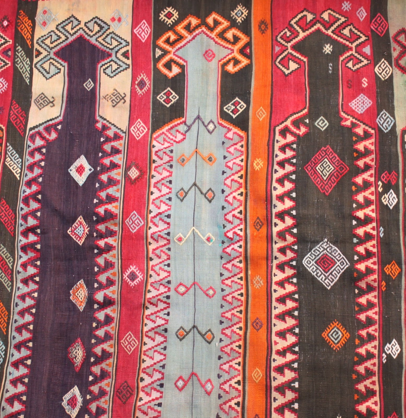 Anatolian Kilim Rugs, Antiques And Tribal Textiles: An
