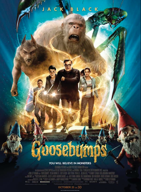 Goosebumps 2015 American 3D Computer Animated Horror Comedy Film