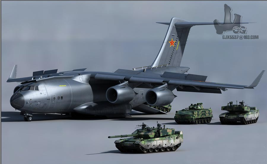Defense Strategies: New Chinese Military Transport Aircraft Y-20 Rises