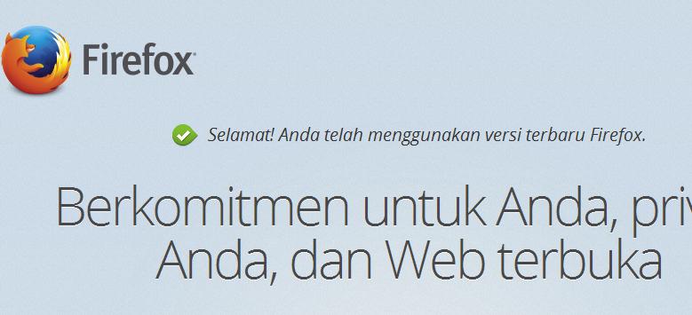 Web Browser Mozilla Firefox