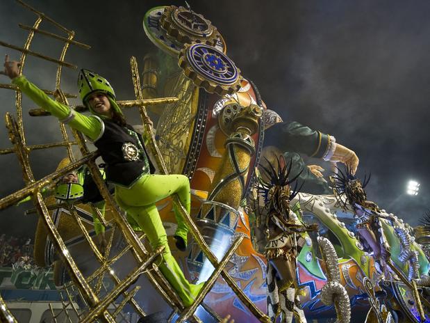 Think, Rio carnival 2013 nude