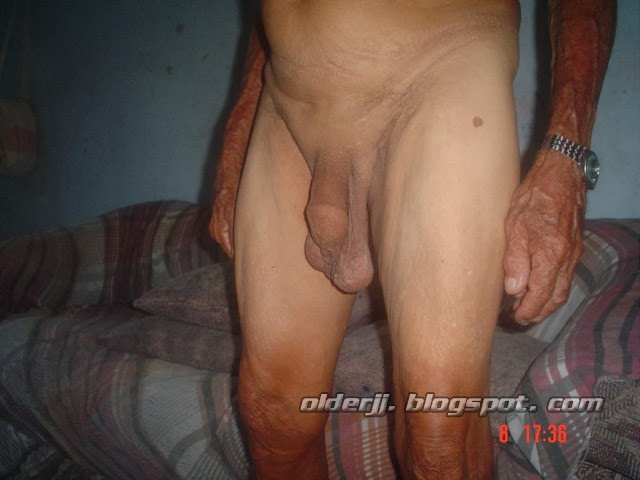 Old man cock and balls
