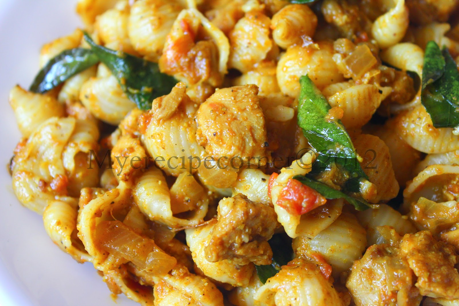 Indian Chicken Macaroni