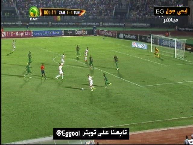 اهداف مقابلة تونس وزامبيا -2-1 كأس امم افريقيا ||22-1-2015 || 22-1-2015  || tunisia vs zambia