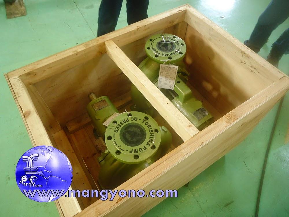 WATER  PUMP TORISHIMA Type : CER 125 - 200 sudah siap di Ekspor ke Malaysia