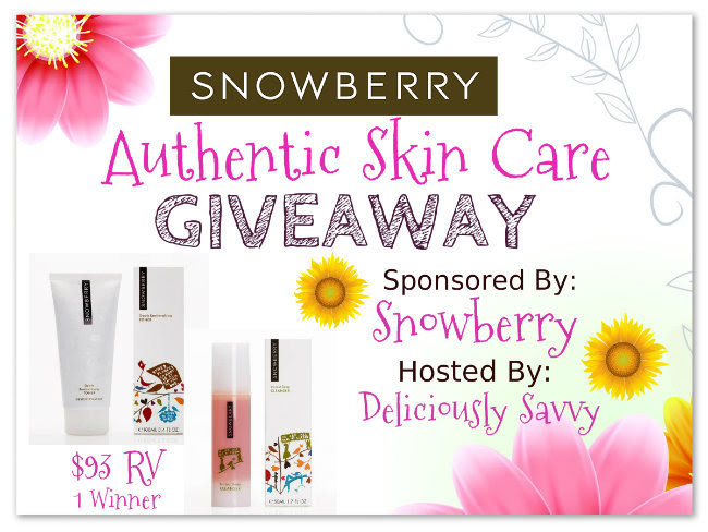 Snowberry Authentic Skin Care Blogger Opp
