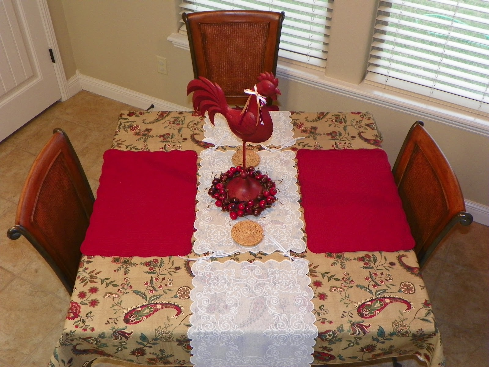 Along the way super simple diy table runner for Easy diy table runner