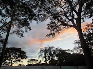 Nuvens em Campo Grande