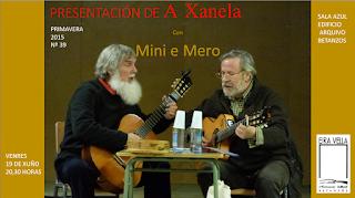 A A.C Eiravella e Mini e Mero presentan A Xanela 39